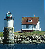 Ram Island light house. Boothbay Harbor, ME.  (C) Rob Kleine, All Rights Reserved, www.gentleye.com